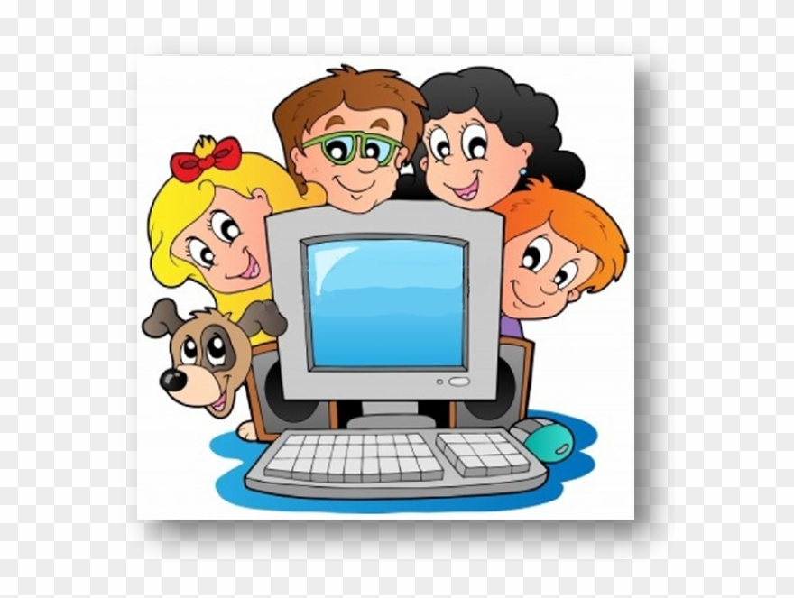 Computer Clipart Children\'s.