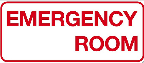 Emergency Room Sign Clipart.