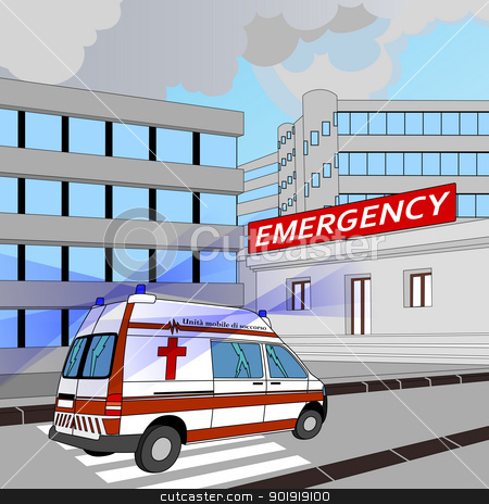 Hospital Emergency Clipart.