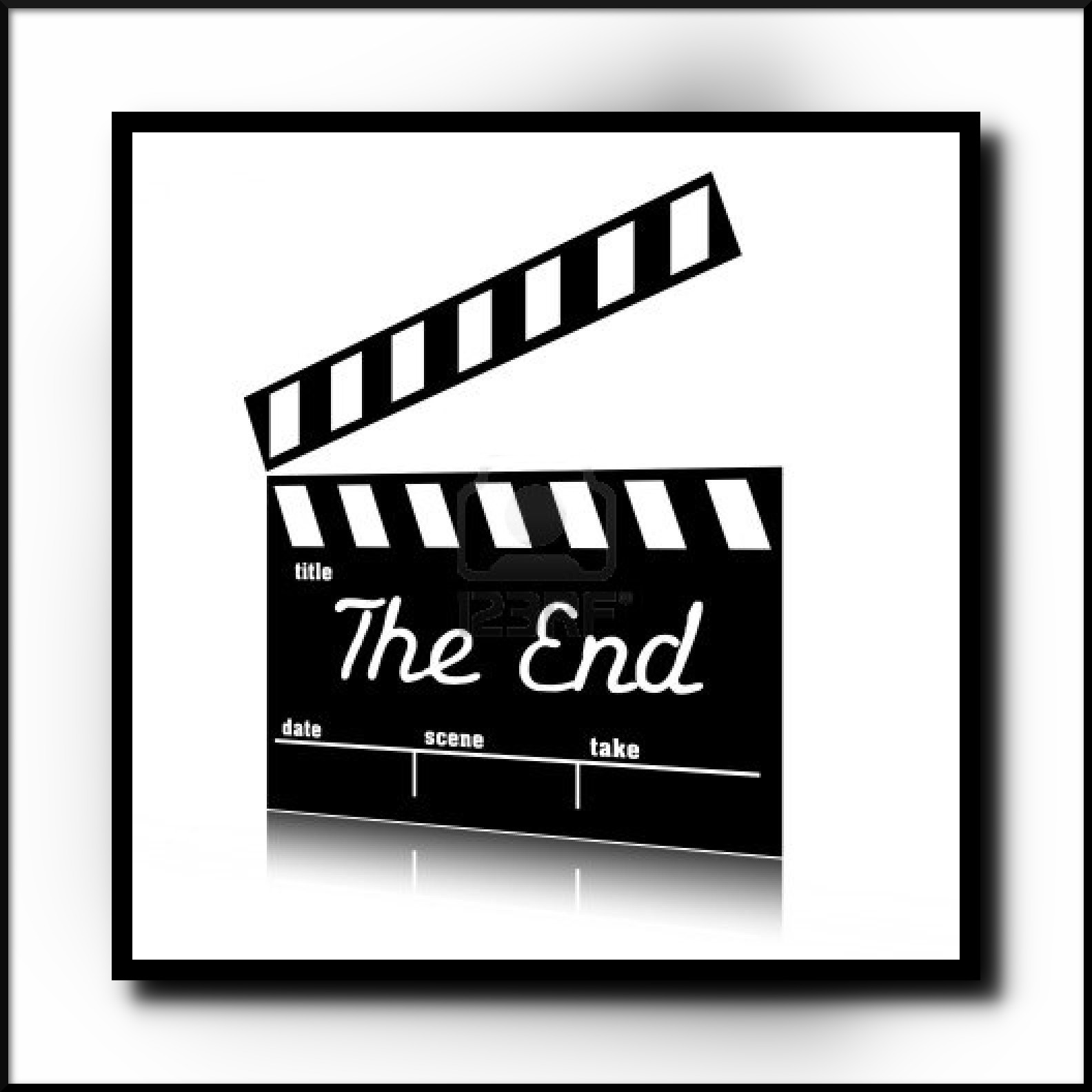 The End Clip Art & The End Clip Art Clip Art Images.