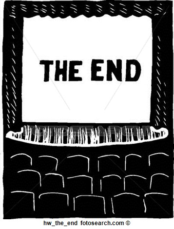 The end clip art.