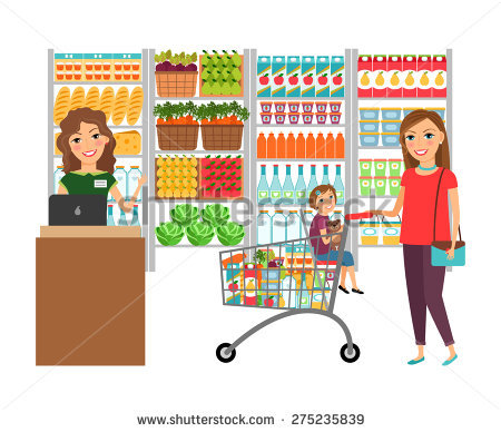 856 Grocery Store free clipart.
