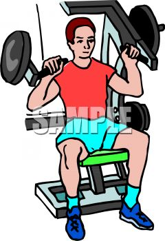Going To The Gym Clipart.