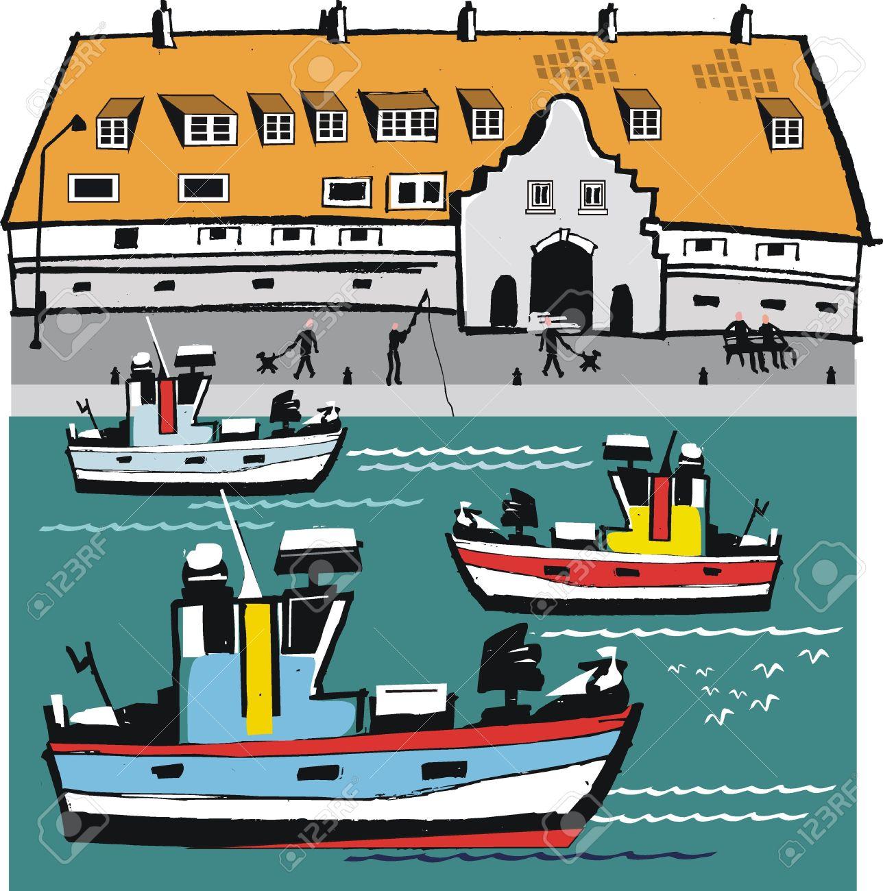 Harbor clipart.