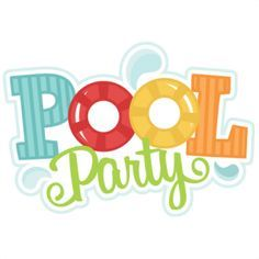 520 Pool Party free clipart.