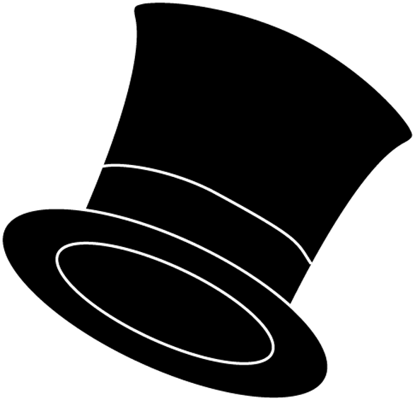 Stovepipe hat clipart #9