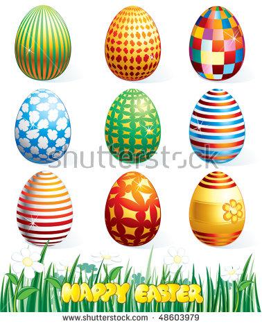 clip art easter eggs.
