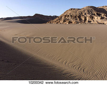 Stock Photo of Valle de la Luna, Salar de Atacama; San Pedro de.