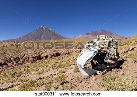 Stock Photography of South America, Chile, Atacama Desert.