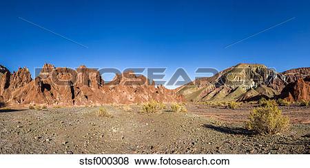 Pictures of South America, Bolivia, Atacama Desert, Valle del.