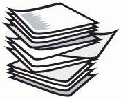 Stack Of Paper Clipart.