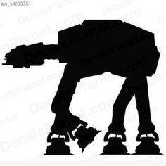 Star Wars Silhouette Clip Art.