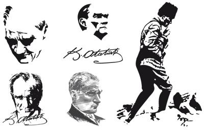 """Gallery Vector Art: """"Atatürk"""" by Alpaslan from Mersin."""
