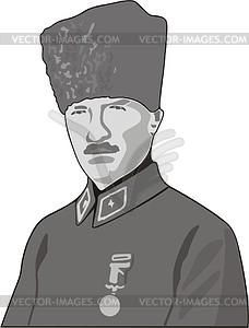 Kemal Ataturk.