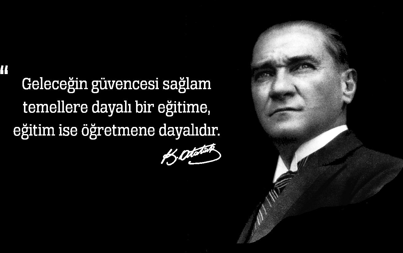 HD Mustafa Kemal Atatürk Transparent PNG Image Download.