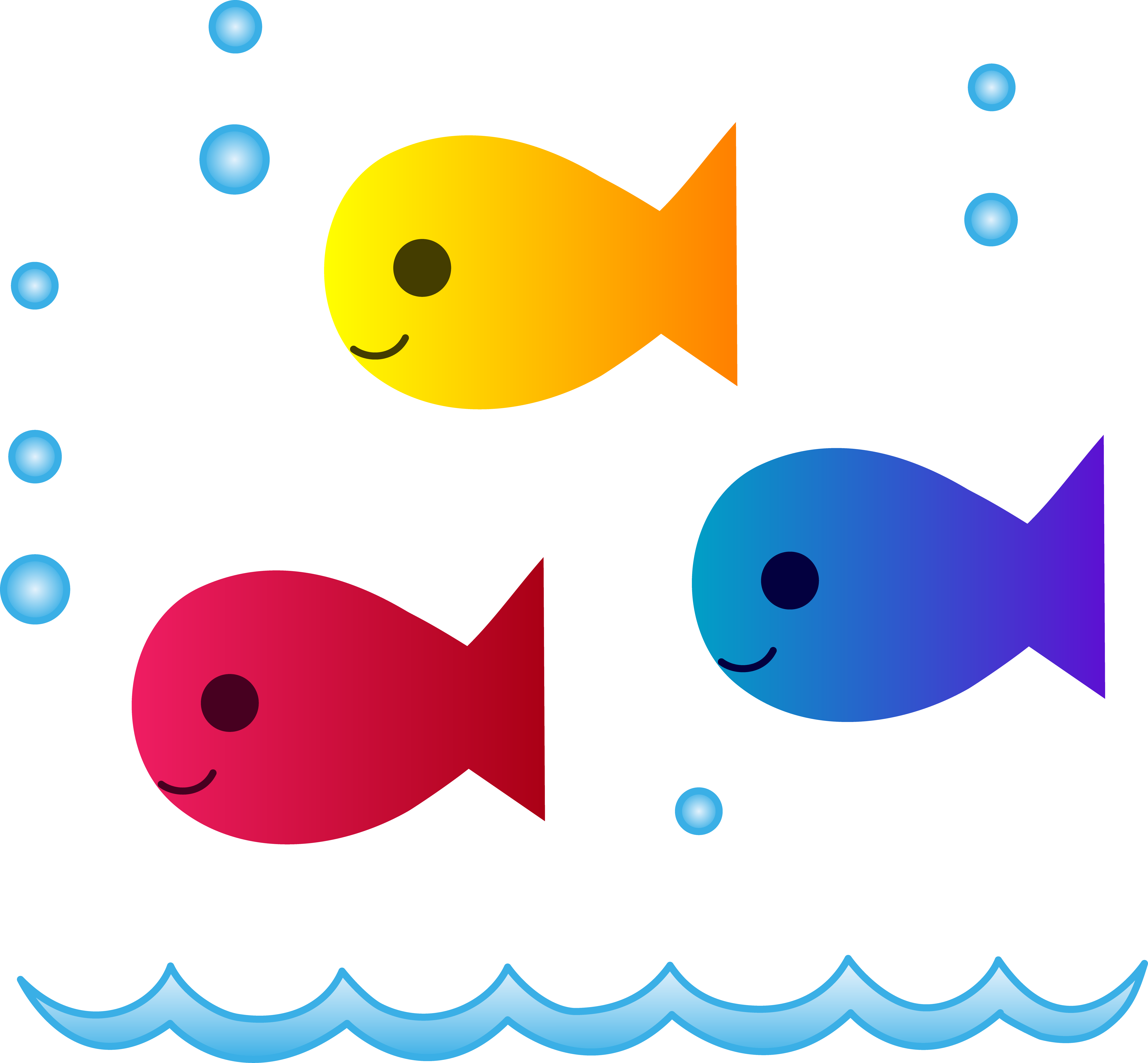 Fishes Clipart.