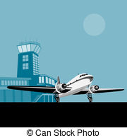 Air traffic control tower Illustrations and Clipart. 216 Air.
