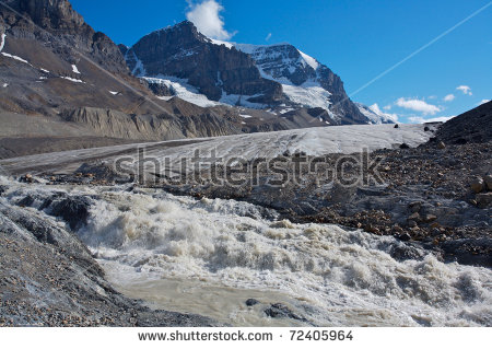 Mount Athabasca Snow Dome Jasper National Stock Photo 39377683.