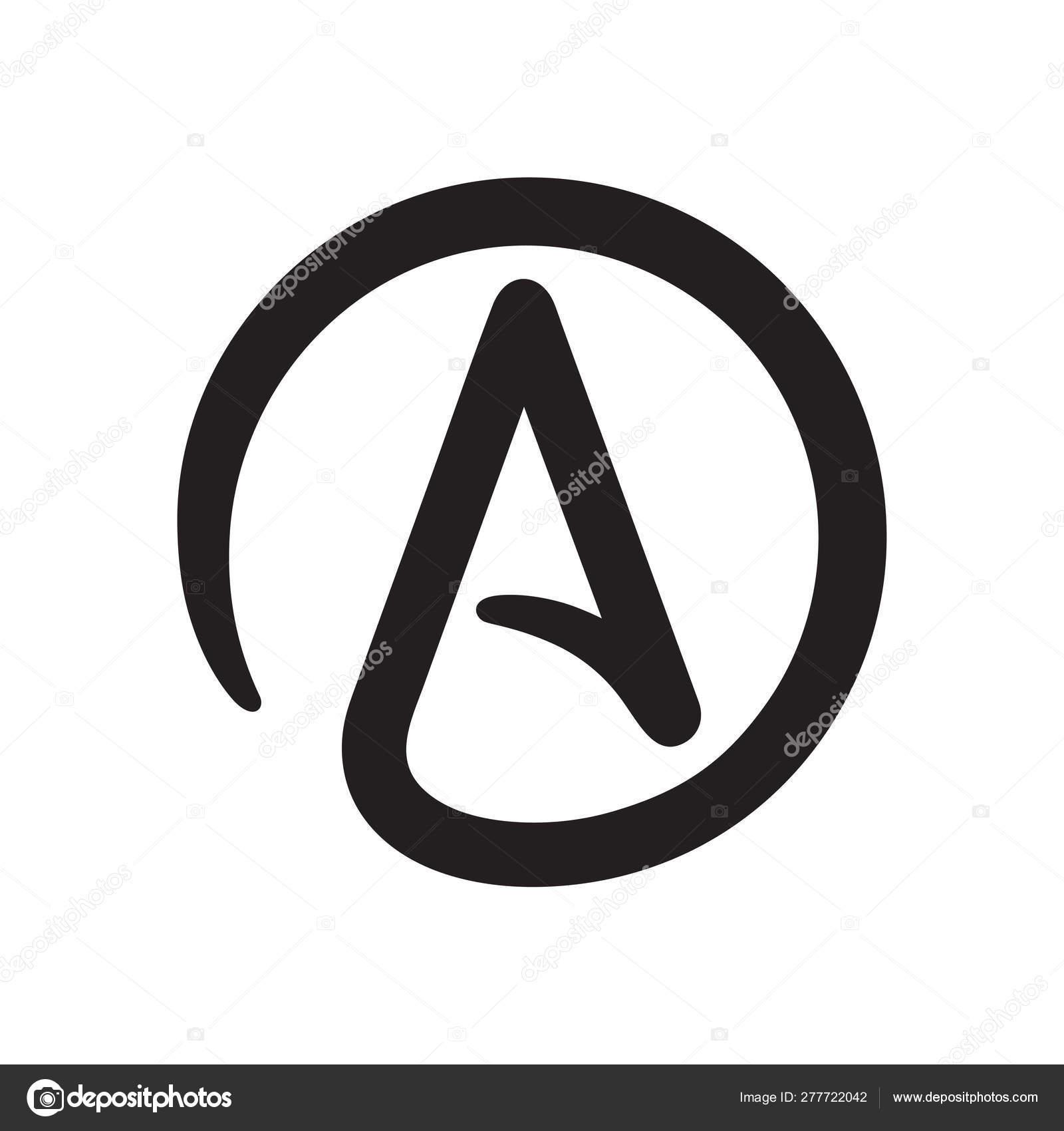 Symbol of Atheism — Stock Vector © Sudowoodo #277722042.