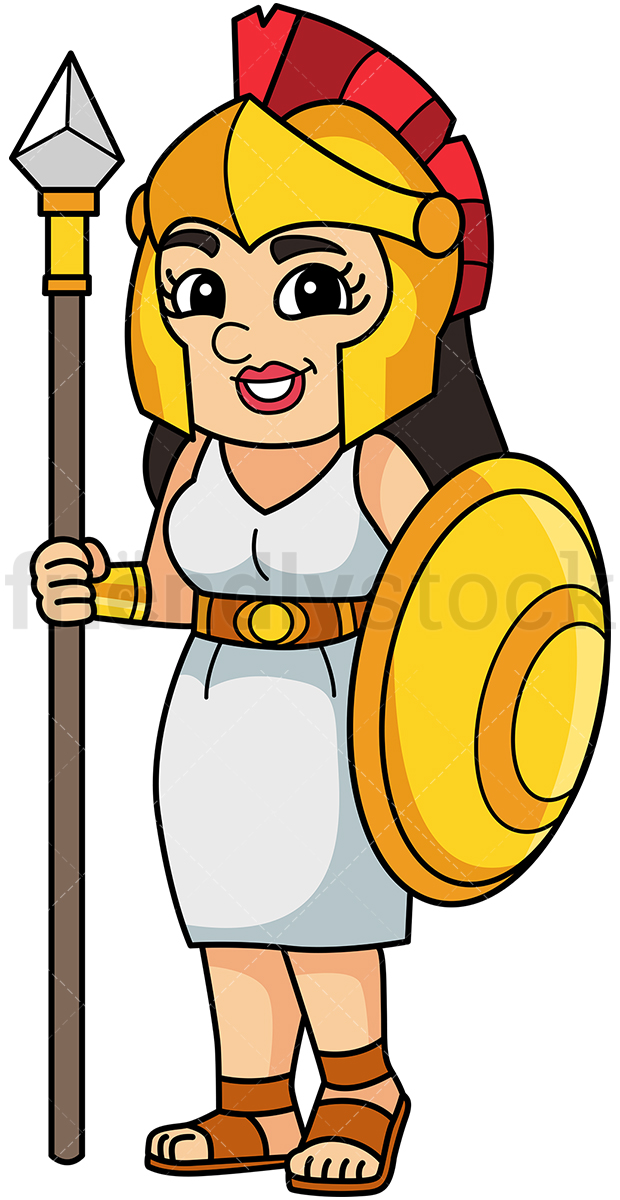 Athena Greek Goddess.