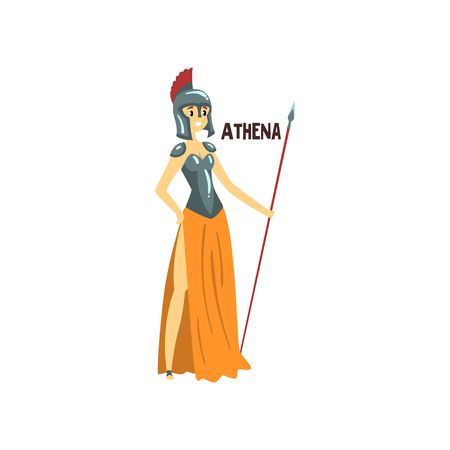 195 Greek Goddess Athena Stock Vector Illustration And Royalty Free.