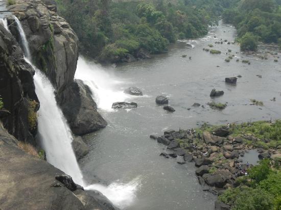 Athirappilly Falls, Kerala, India..