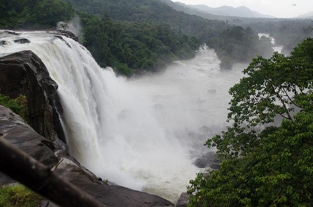Athirapally Waterfalls.