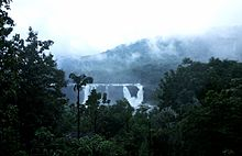 Athirappilly Falls.
