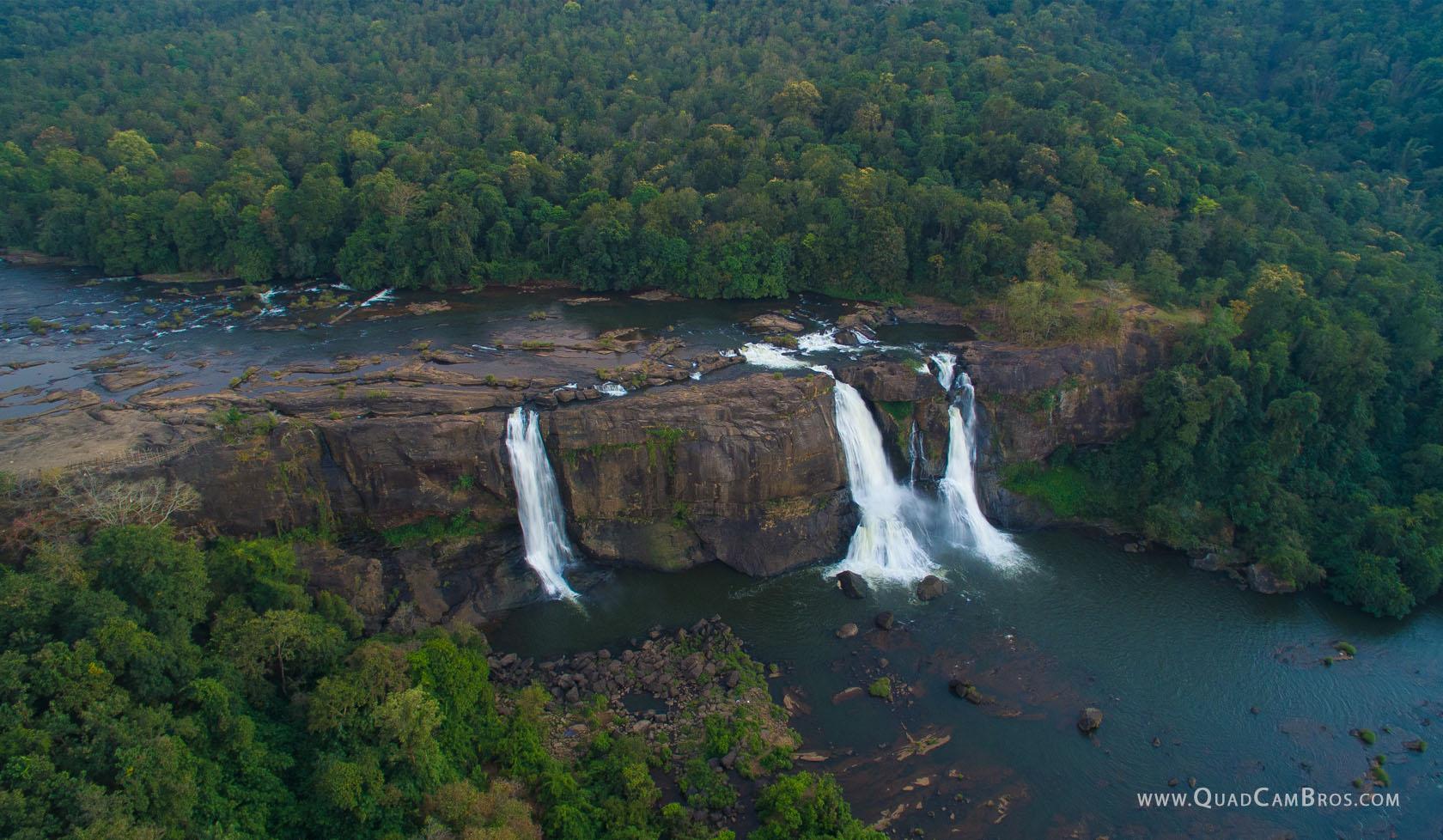 Athirappilly falls, Kerala.