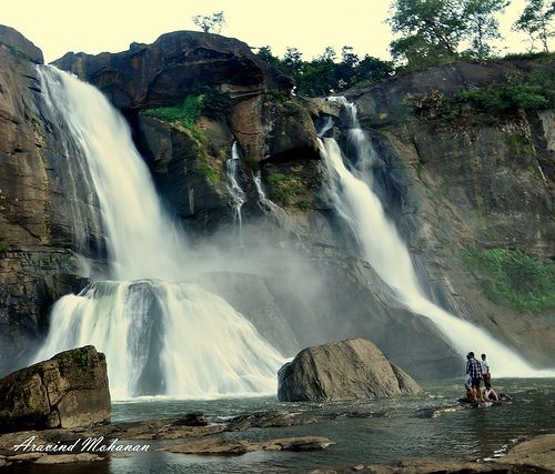 Athirappilly Falls is located in Athirappilly panchayath in.