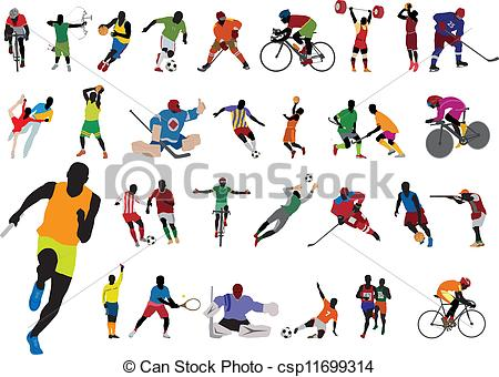 Athletic Clip Art Free.