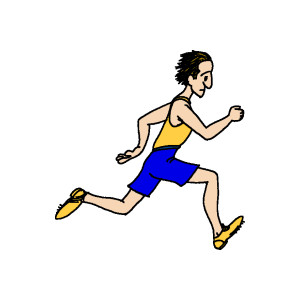 Athlete Clipart.