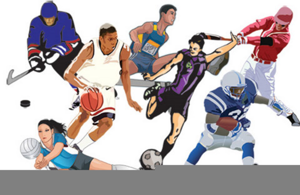 Student Athlete Clipart.