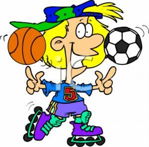 Athlete Clipart.