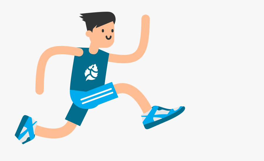 Jump Clipart Athletic Person.