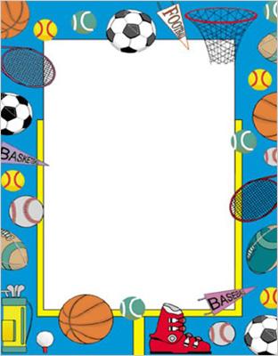 Free Sports Border Cliparts, Download Free Clip Art, Free.