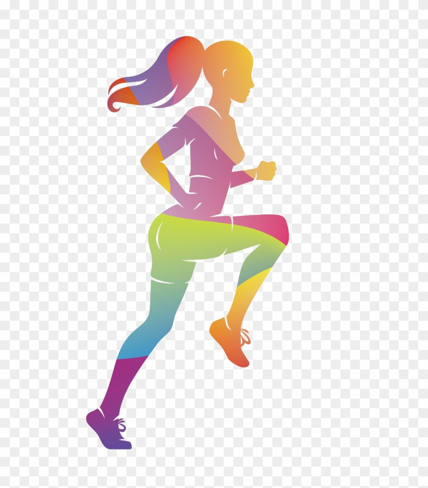 Running Png Clipart Background.