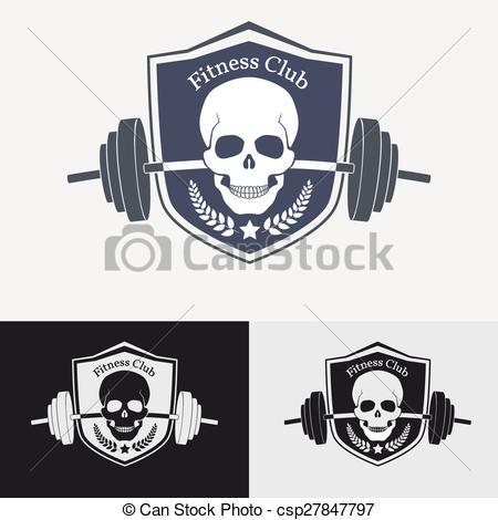 EPS Vectors of Athletic gym logo concept. Symbol for sport.