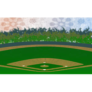 Sports field clipart.