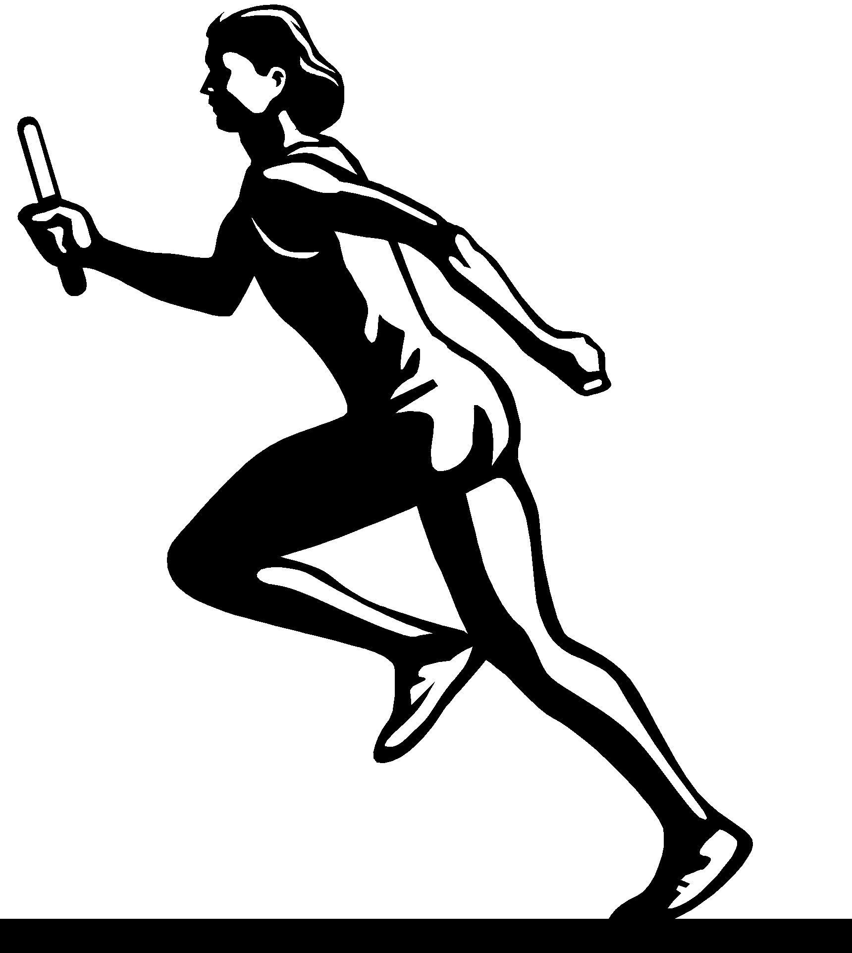 Track and field clip art the cliparts 2.
