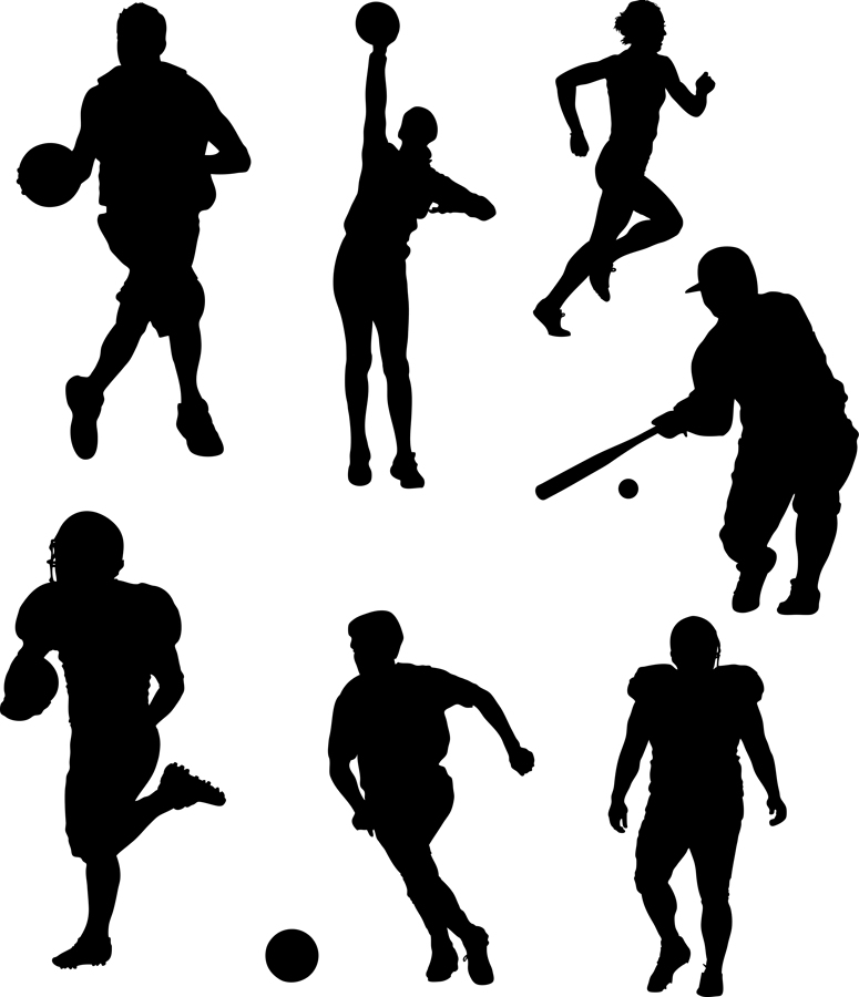 Free Sports Cliparts Silhouette, Download Free Clip Art, Free Clip.