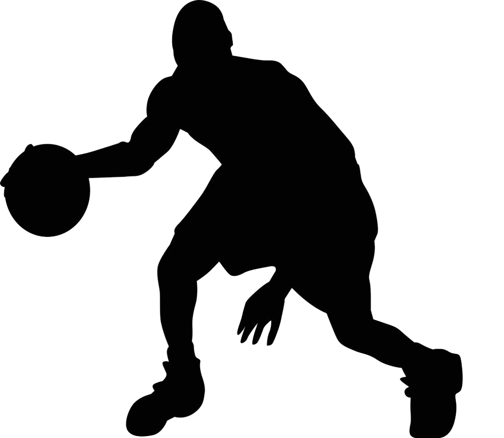 Silhouette Basketball Sport Clip art.