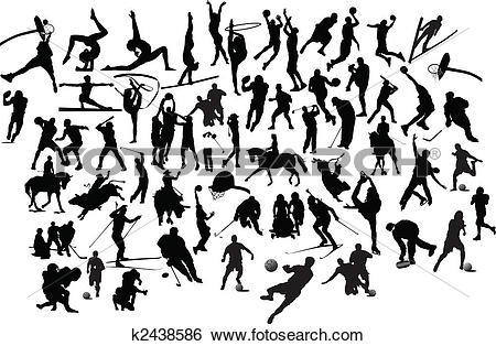 Athletic sports Clipart Illustrations. 51,997 athletic sports clip.