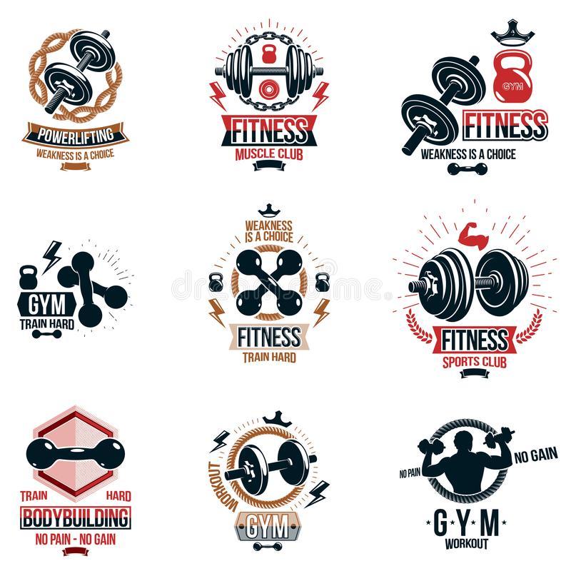 Athletics Symbols Stock Illustrations.