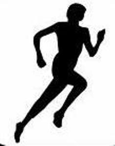 free runner clip art.