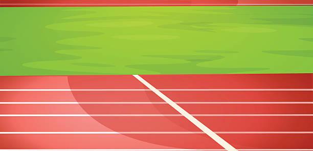 Athletics Track Clipart.