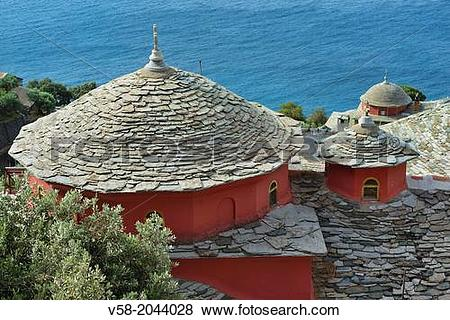 Pictures of Greece, Chalkidiki, Mount Athos, World Heritage site.