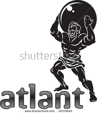 Atlas Titan Stock Images, Royalty.