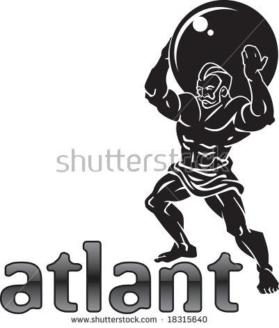 Atlas Titan Stock Images, Royalty.
