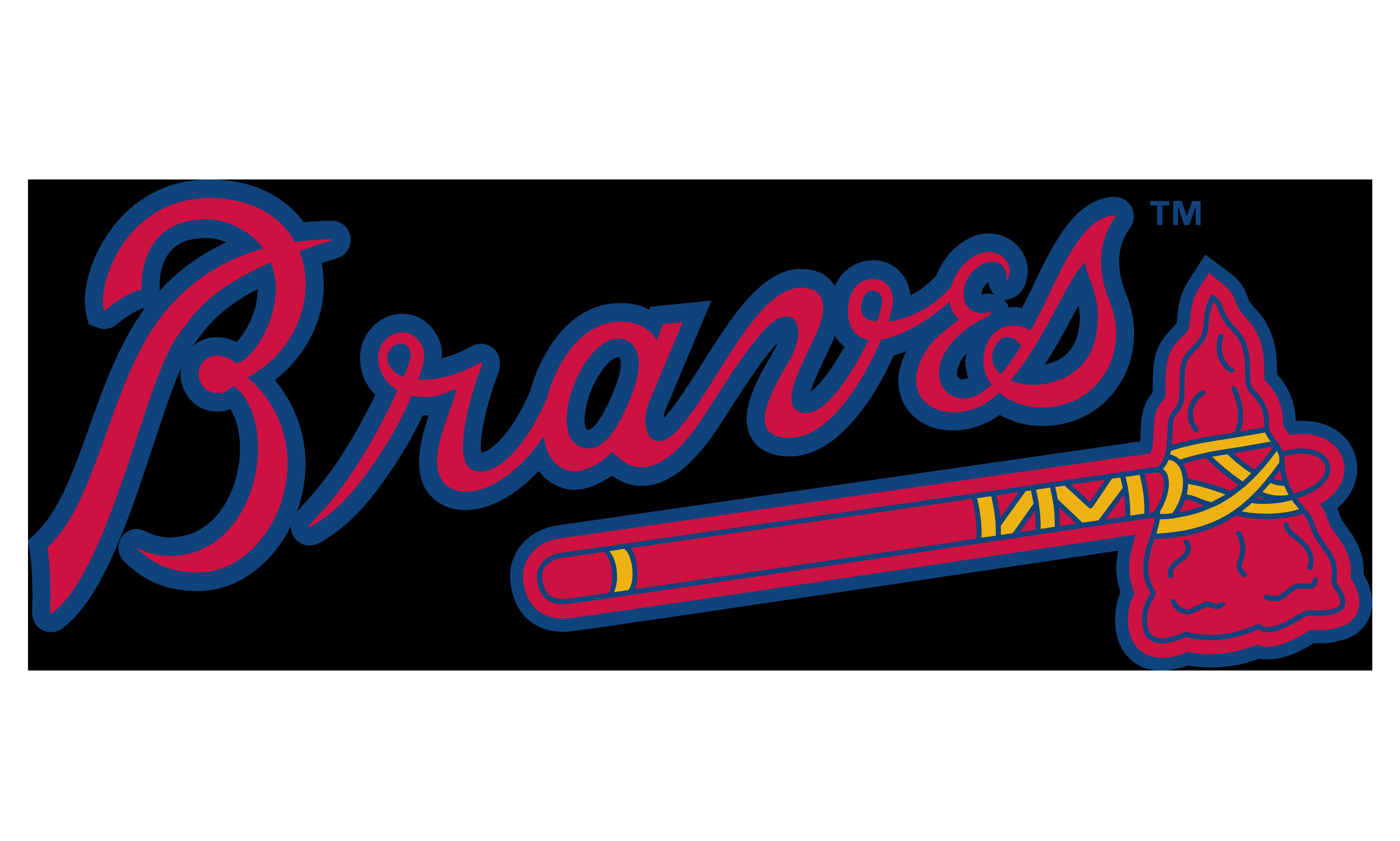 Atlanta Braves MLB Logo Philadelphia Phillies Baseball.